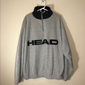 HEAD Fleece QuarterZip Men's Size XL